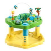 Evenflo ExerSaucer Bounce & Learn Bouncer - Zoo Friends