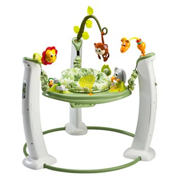 c3a6f624f Evenflo ExerSaucer Jump   Learn Jumper - Safari Friends