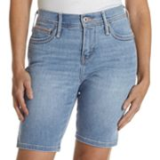 Levi's 512 Slimming Denim Bermuda Shorts - Petite
