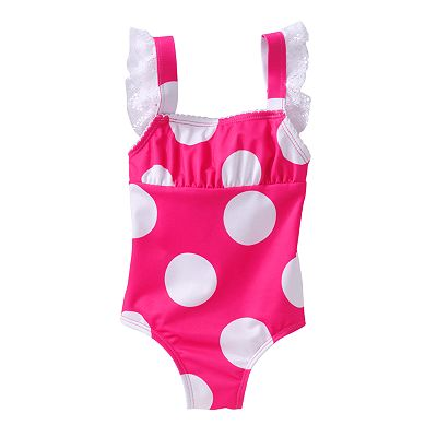 Penny M Polka-Dot One-Piece Swimsuit - Baby
