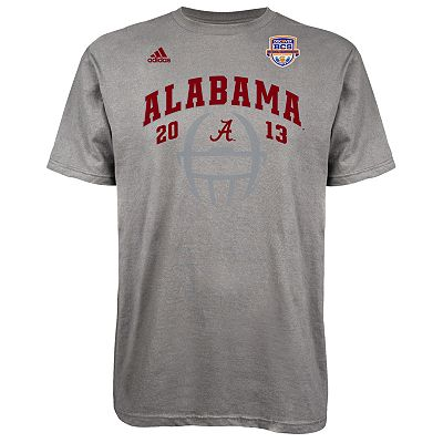 adidas Alabama Crimson Tide 2013 BCS National Championship Helmet Tee - Men
