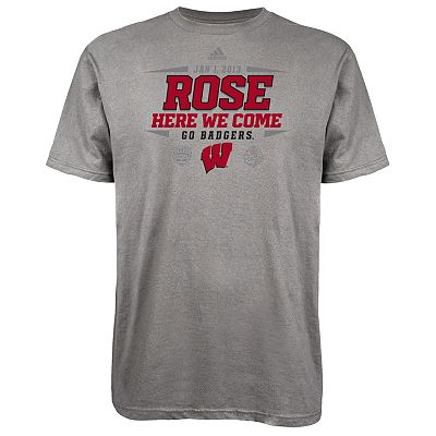 adidas Wisconsin Badgers We Are Going Tee - Men