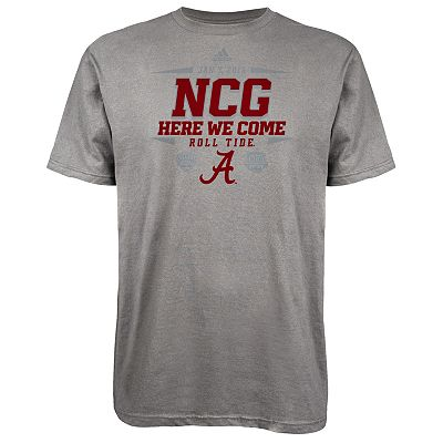 adidas Alabama Crimson Tide We Are Going Tee - Men