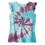 Jumping Beans Tie-Dye Top - Girls 4-7