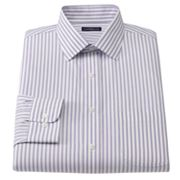 Croft and Barrow Classic-Fit Striped Easy-Care Spread-Collar Dress Shirt