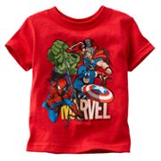 Marvel Superheroes Tee - Baby