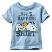 Peanuts Snoopy Official Napping Shirt Tee - Baby