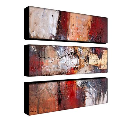 3-pc. ''Cube Abstract V'' Wall Art Set