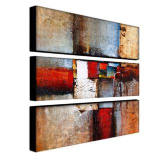 3-pc. ''Cube Abstract VI'' Wall Art Set