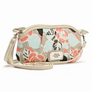 Relic Bleeker Floral Pleated Wristlet