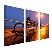 3-pc. ''Boardwalk'' Wall Art Set