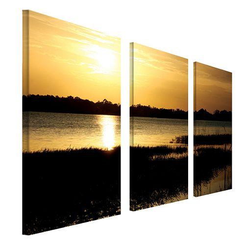 """End of the Day"" 3-pc. Wall Art Set by Patty Tuggle"