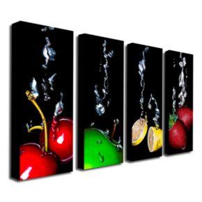 Splash 4-pc. Wall Art Set by Roderick Stevens