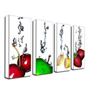 Splash 4-pc. Wall Art Set by Roderick Stevens