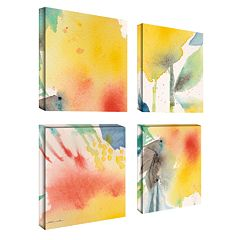 'Print I' 4-pc. Wall Art Set by Sheila Golden