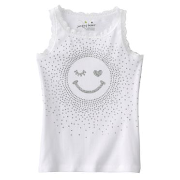 Jumping Beans Smile Tank - Girls 4-7