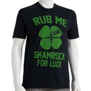 Urban Pipeline Rub Me Shamrock Tee - Men