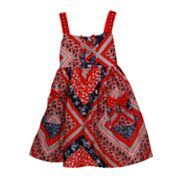 Blueberi Boulevard Patchwork Sundress - Baby