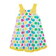 Blueberi Boulevard Dot Sundress - Baby