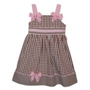 Blueberi Boulevard Gingham Sundress - Baby