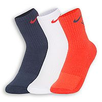 Boys Nike 3 pkCrew Performance Socks