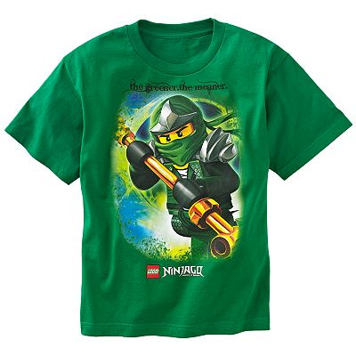 LEGO Ninjago Mean Green Tee - Boys 8-20