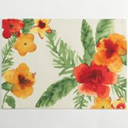 Croft and Barrow Hibiscus Placemat