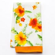 Croft and Barrow Hibiscus Kitchen Towel