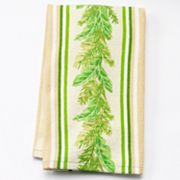 Croft and Barrow Palm Leaves Kitchen Towel