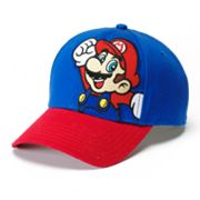 Super Mario Baseball Cap - Boys 8-20