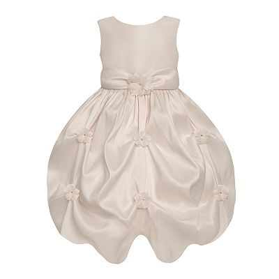 American Princess Floral Gathered Dress - Toddler