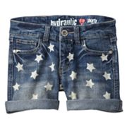 Hydraulic Star Denim Shorts - Girls 7-16