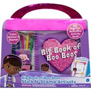 Disney Doc McStuffins Big Book of Boo Boos Stick N' Stamp Activity