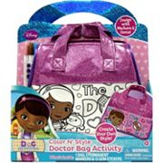 Disney Doc McStuffins Color N' Style Doctor Bag Activity