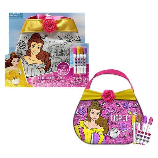 Disney's Belle Color-N-Style Purse Activity Kit