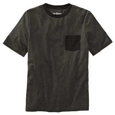 Urban Pipeline Solid Heathered Tee - Boys 8-20