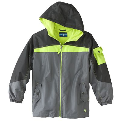 Arctic Quest Fleece-Lined Taslon Jacket - Boys 8-20