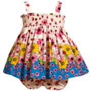 Bonnie Jean Floral Smocked Sundress - Baby