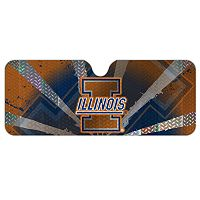 Illinois Fighting Illini Auto Sunshade