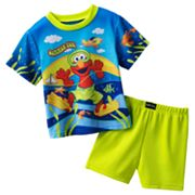 Sesame Street Elmo Summer Fun Pajama Set - Toddler