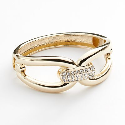Apt. 9 Simulated Crystal Openwork Bangle Bracelet