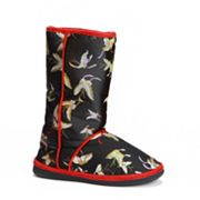 Cicciabella Black Pearl Butterfly Boot Slippers