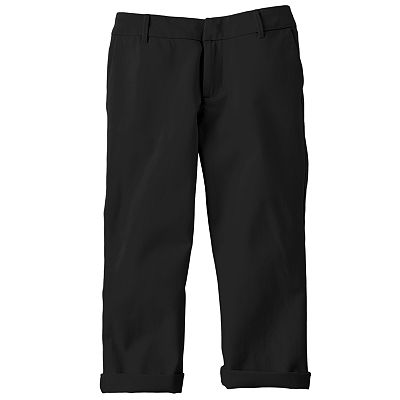 SO Solid Chino Capris - Girls 7-16