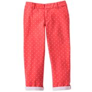 SO Polka-Dot Chino Capris - Girls 7-16