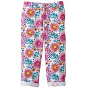 SO Floral Chino Capris - Girls Plus