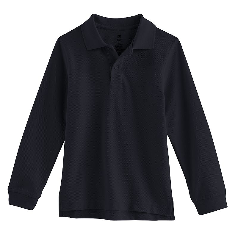 Chaps Pique School Uniform Polo - Boys 4-7