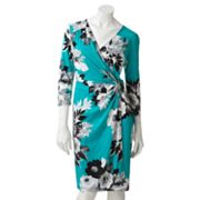 Apt. 9 Floral Faux-Wrap Dress