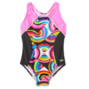 Speedo Circular One-Piece Swimsuit - Girls 7-16