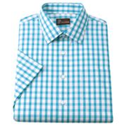 JT Oliver Slim-Fit Gingham Poplin Spread-Collar Dress Shirt