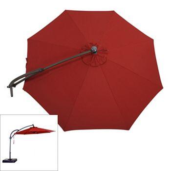 Tilt Lighted Offset Cantilever Umbrella